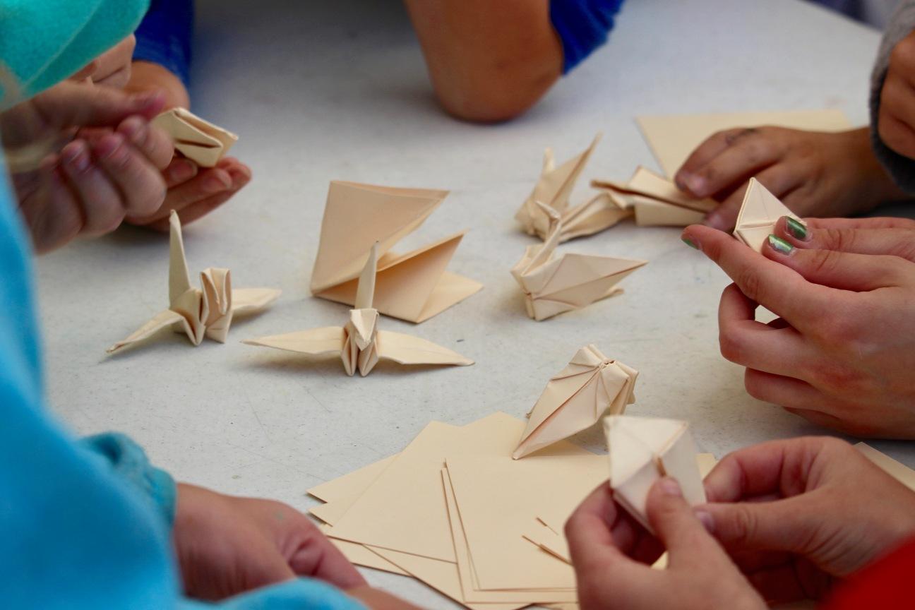 crane folding