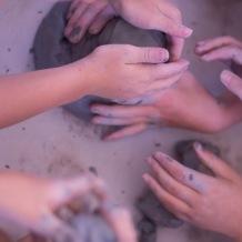 many hands clay olympics