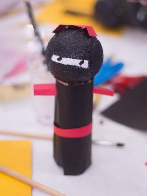 ninja kokeshi