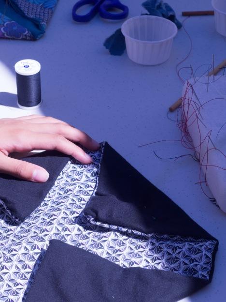 bento bag sewing
