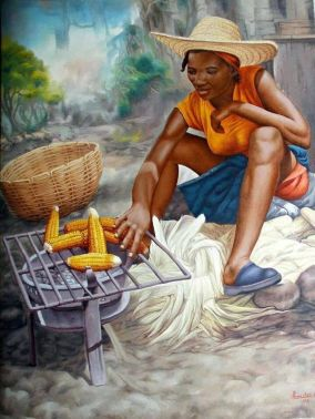 Haitian Home Barbeque