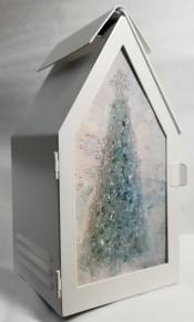 Glass Paneled Lantern